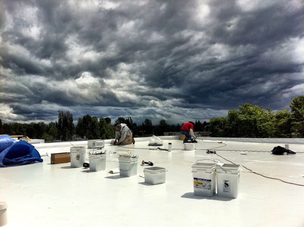Pvc Roofing Seattle Duro Last Ib Roof